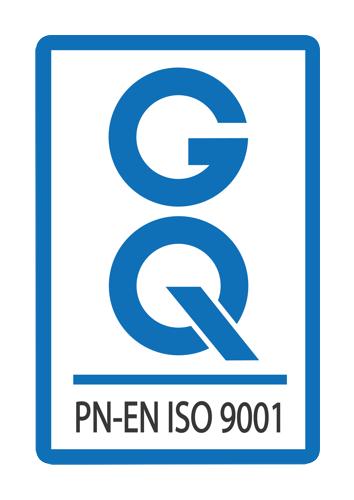 Certyfikat jakości PE EN ISO 9001 logo