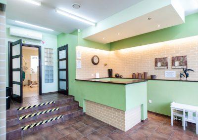 recepcja kliniki stomatologicznej